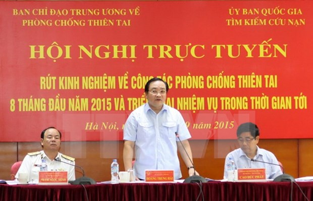 Deputy PM: priority capital for disaster mitigation projects hinh anh 1
