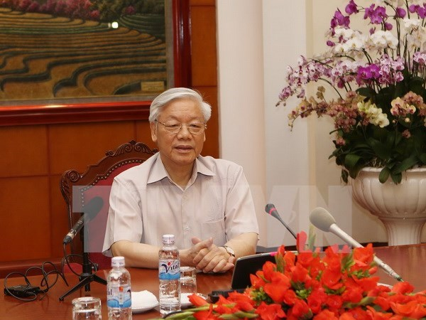 Party leader starts official visit to Japan hinh anh 1
