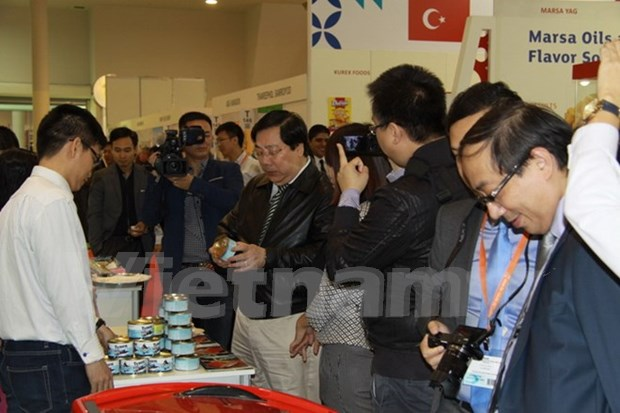 Vietnamese food, beverages on show at WorldFood Moscow hinh anh 1