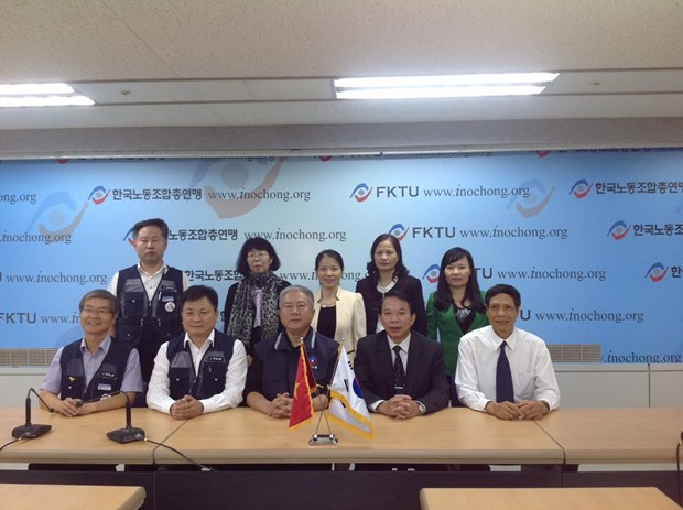 Vietnam, RoK labour, trade unions expand ties hinh anh 1