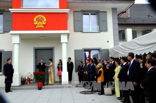 August Revolution and National Day marked in Geneva, Canada hinh anh 1