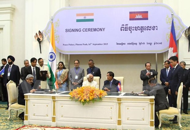 Cambodia, India ink MoU on tourism cooperation hinh anh 1