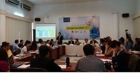 CEOs to discuss ASEAN integration hinh anh 1