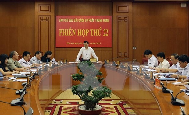 Judicial reform committee looks towards better activities hinh anh 1