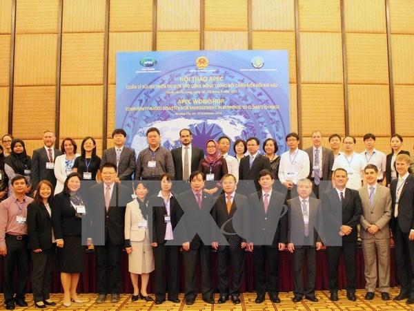 APEC workshop on community-based disaster risk management hinh anh 1