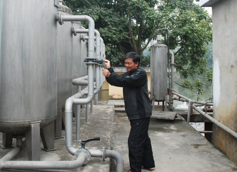Tuyen Quang: Clean water comes to rural areas hinh anh 1