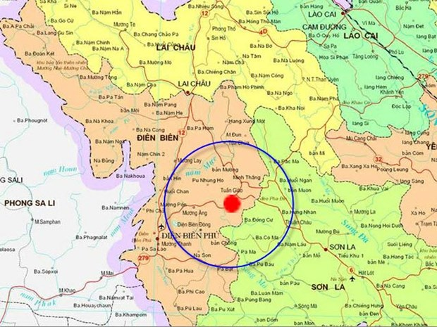 Small earthquake jolts northern mountainous province hinh anh 1