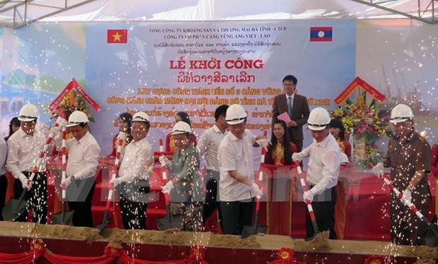 Construction begins on Vung Ang port No 3 hinh anh 1