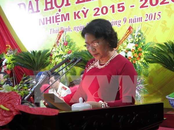 Thai Binh sets Party building as key priority hinh anh 1