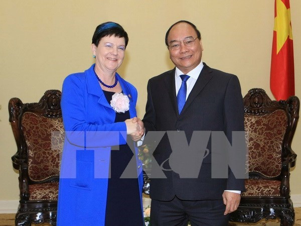 Deputy PM meets with UK Parliamentary Under-Secretary of State hinh anh 1