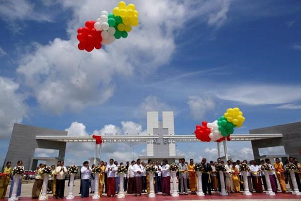 Myanmar opens 1.5 billion USD economic zone hinh anh 1