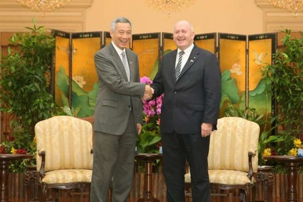 Singapore, Australia reinforce relations hinh anh 1