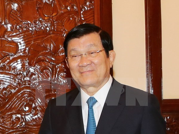 President leaves Hanoi for UN summit on sustainability hinh anh 1