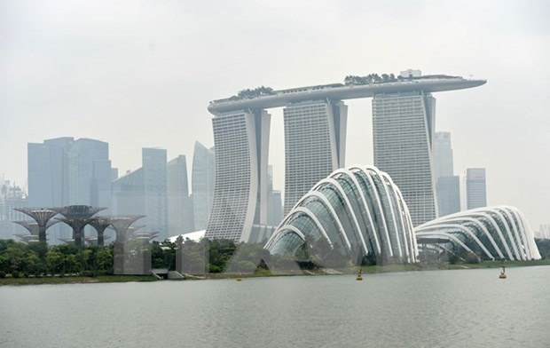 Hazy conditions worsen in Singapore hinh anh 1