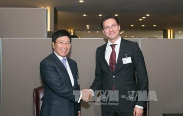 Bulgarian, Danish FMs talk cooperation with Vietnam hinh anh 1