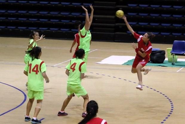 Vietnam makes history at regional handball contest hinh anh 1
