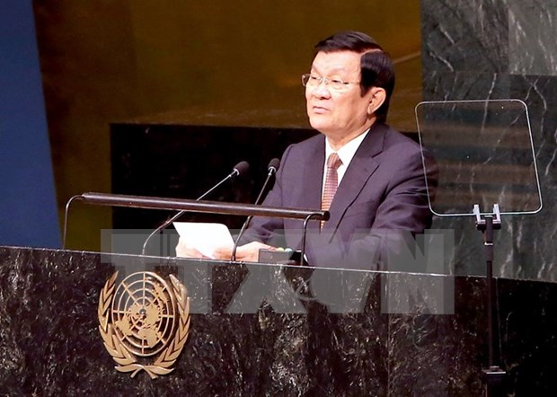 President attends gender equality, CGI meetings in New York hinh anh 1