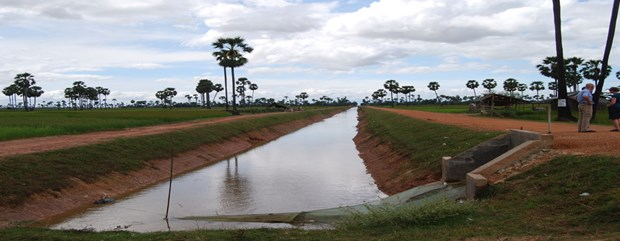 ADB approves 60 mln USD loan for Cambodia's irrigation development hinh anh 1