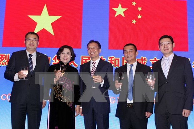 Chinese embassy celebrates nation's 66th founding anniversary hinh anh 1