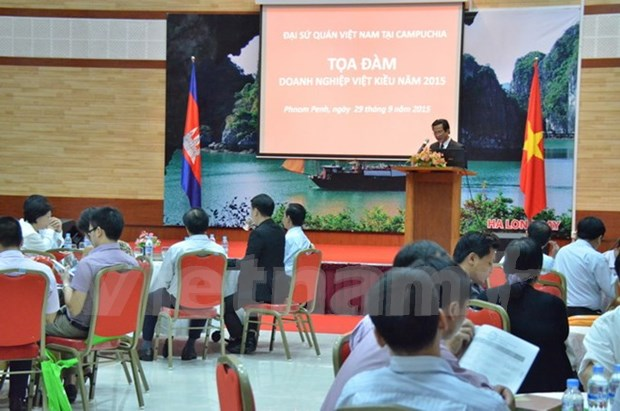 Seminar seeks to support Vietnamese businesses in Cambodia hinh anh 1