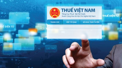 Hanoi: e-tax payment surpasses expectations hinh anh 1