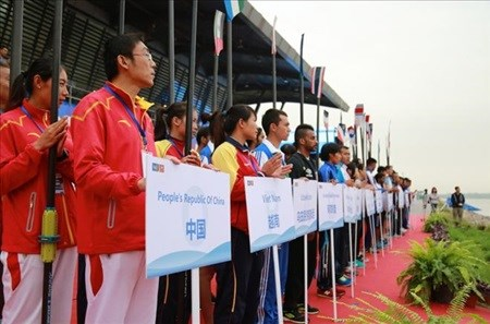 Vietnam places seventh in Asian Rowing Championships hinh anh 1