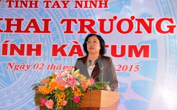 Tay Ninh gets new main border gate hinh anh 1
