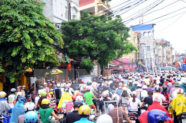 Road fees for motorbikes suspended from 2016 hinh anh 1