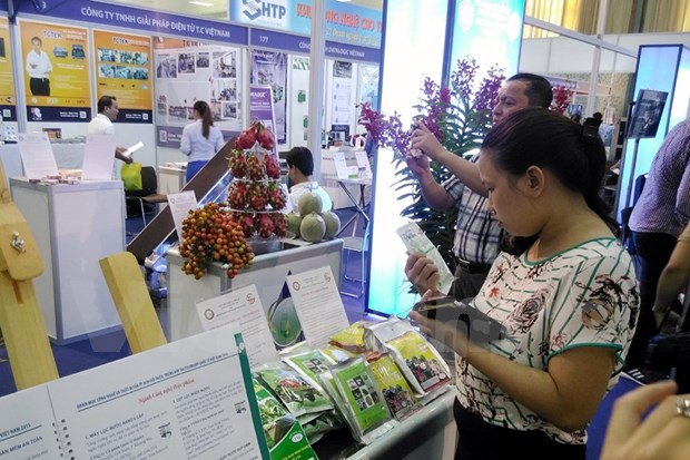 International Techmart 2015 opens in Hanoi hinh anh 1