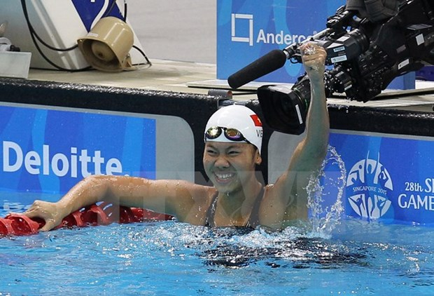 Vietnam takes 15 gold medals at Asian Age Swimming Championship hinh anh 1