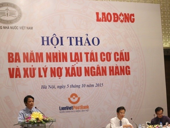Bad debt ratio slashed to 3.21 percent hinh anh 1