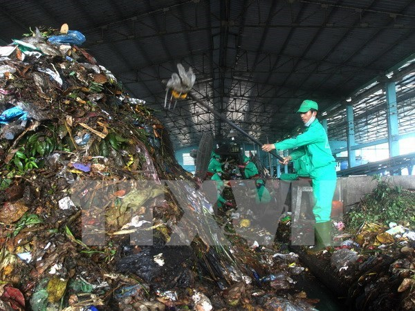 Northwest region's biggest waste treatment plant inaugurated hinh anh 1