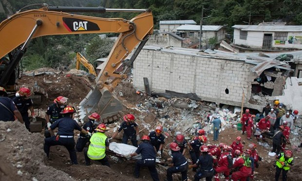 Condolences sent to Guatemala over deadly mudslide hinh anh 1