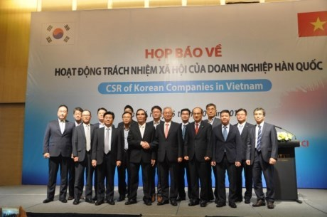 RoK firms share corporate social responsibility in Vietnam hinh anh 1