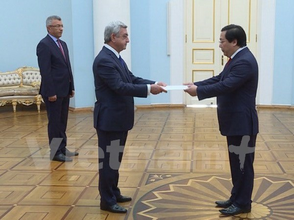 Armenia looks to broader economic links with Vietnam hinh anh 1