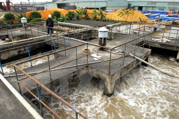 RoK funds waste water treatment system in An Giang hinh anh 1