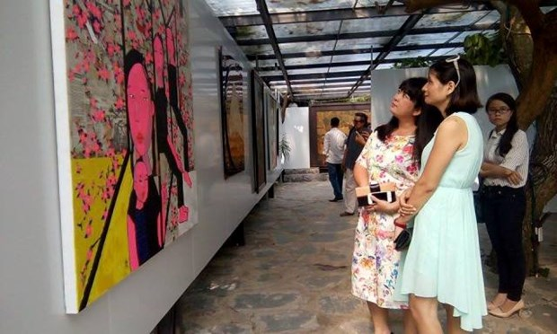 Faces bring life to capital exhibition hinh anh 1