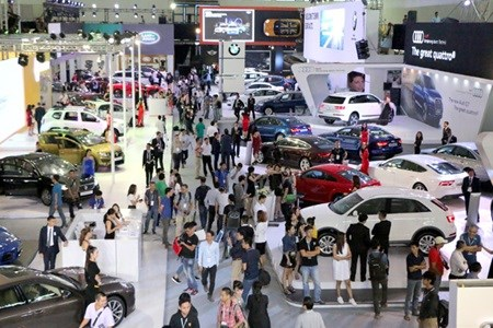 New car expo opens in Hanoi hinh anh 1