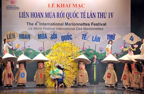 International puppetry festival opens in Hanoi hinh anh 1