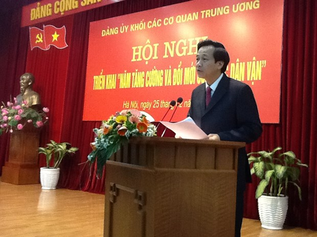 Party Organisation of Central Agencies Bloc shows strong performance hinh anh 1