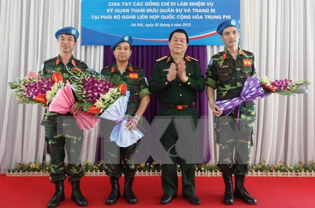 Vietnam active in UN peacekeeping mission hinh anh 1