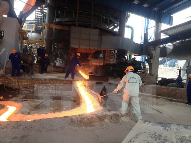 Iron and steel complex becomes operational in Cao Bang hinh anh 1