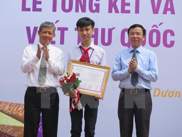 45th UPU letter writing contest launched hinh anh 1