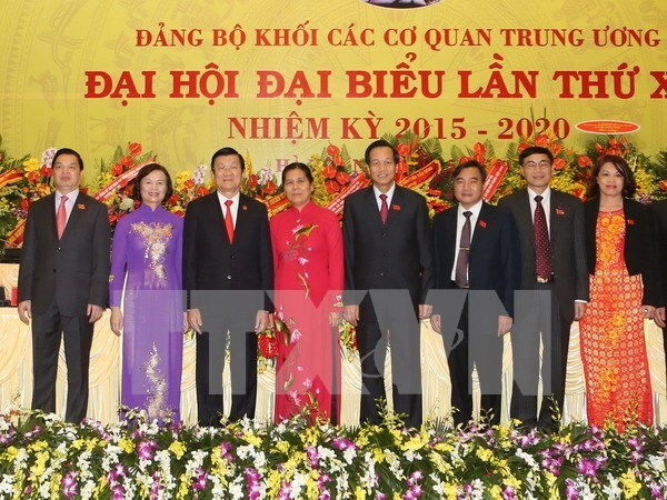 Central agencies' 12th Party Congress concludes hinh anh 1