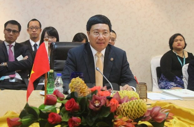Deputy PM attends Mekong-Japan, Mekong-RoK foreign ministers' meetings hinh anh 1