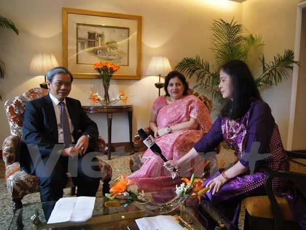 Vietnam-India relations stronger than ever: ambassadors hinh anh 1