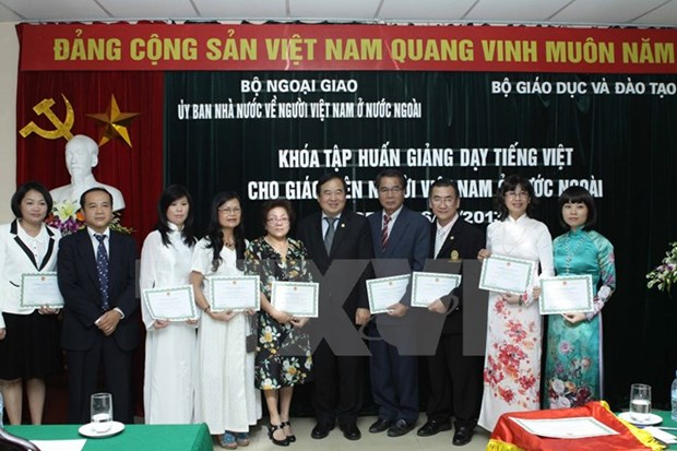 Course boosts Vietnamese teaching capacity for expats hinh anh 1
