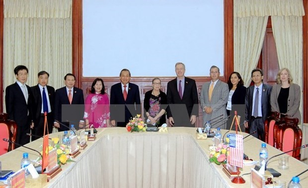 US to strengthen judicial exchange with Vietnam hinh anh 1