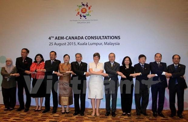 ASEAN, Canada target doubling trade hinh anh 1