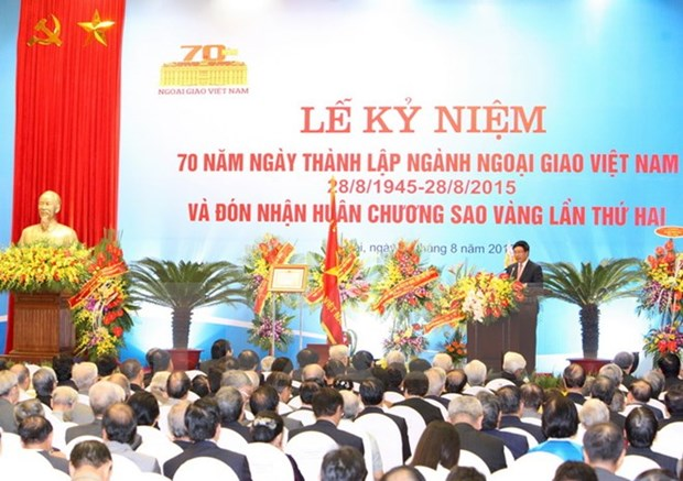 Foreign congratulatory messages on Vietnam's National Day hinh anh 1